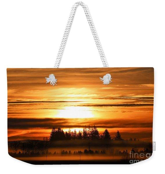First Sunrise Weekender Tote Bag
