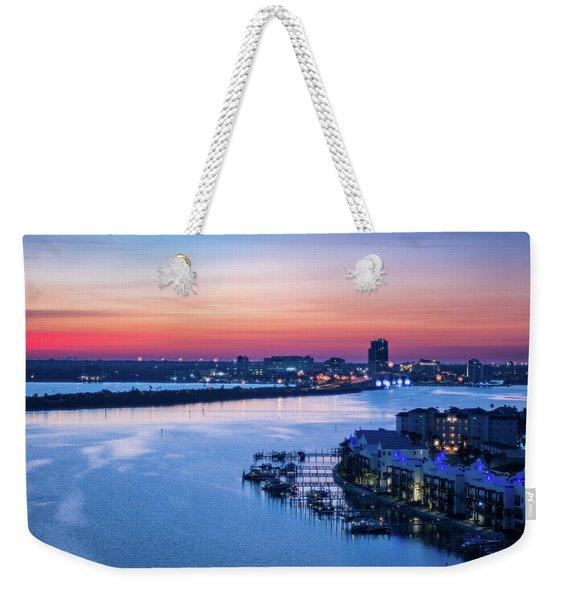 Firstlight Over Clearwater Weekender Tote Bag