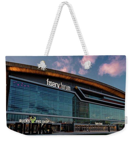 Fiserv.forum Weekender Tote Bag