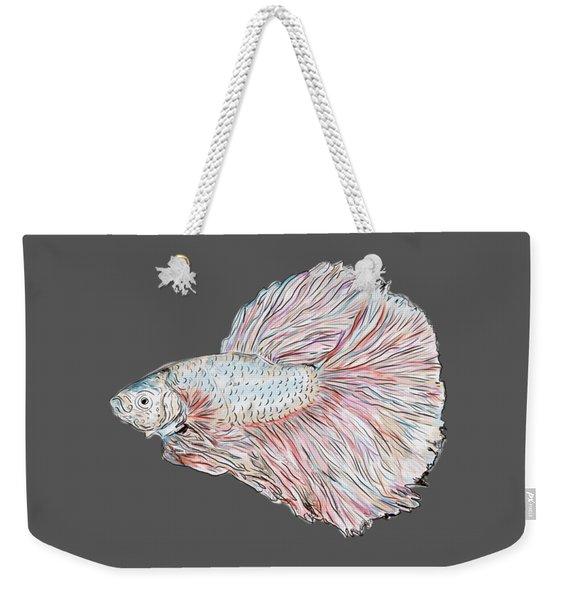 Fish Painting Weekender Tote Bag