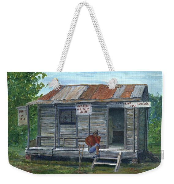 Fish Store, Natchitoches Parish, Louisiana Weekender Tote Bag