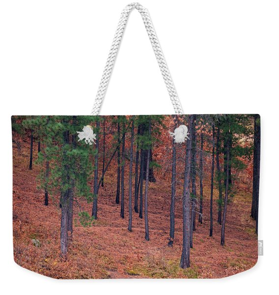 Fishing Fenton Lake Weekender Tote Bag