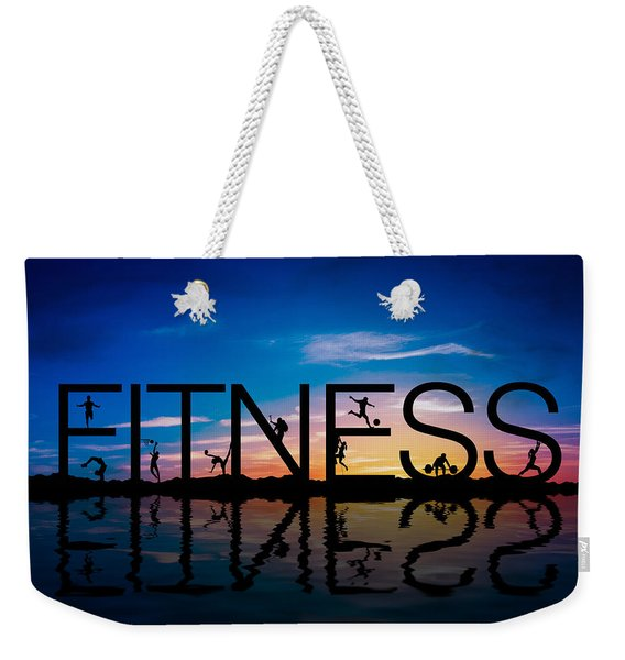 Fitness Concept Weekender Tote Bag