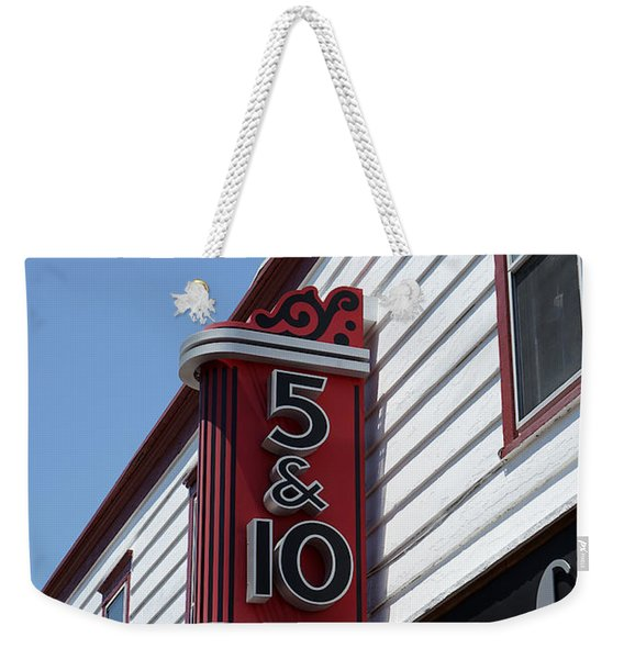 Five And Dime Store Weekender Tote Bag
