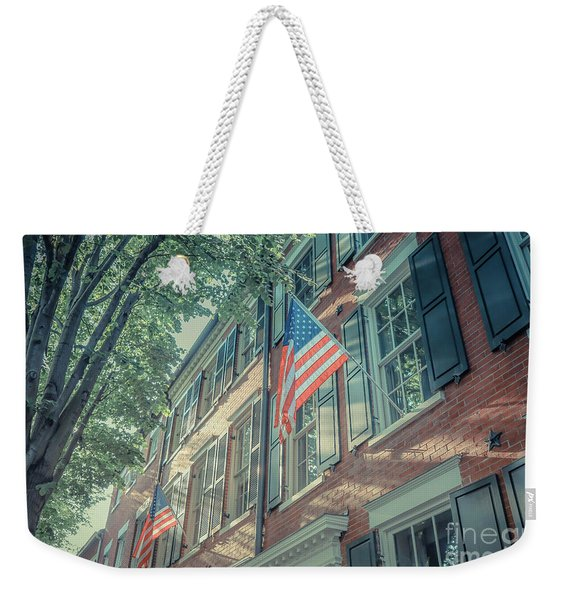 Flags Old Town Alexandria Weekender Tote Bag