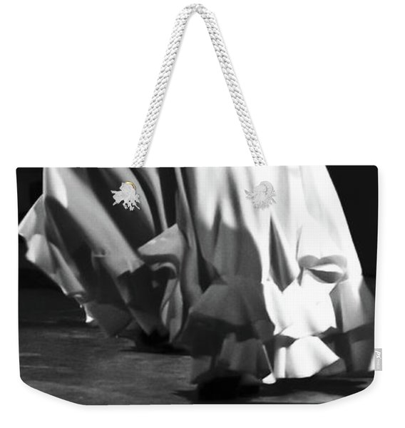 Weekender Tote Bag featuring the photograph Flamenco 40 by Catherine Sobredo