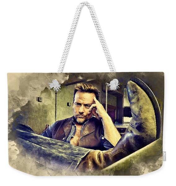Flanery And His Cowboy Boot Weekender Tote Bag