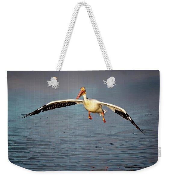 Flaps Down Weekender Tote Bag
