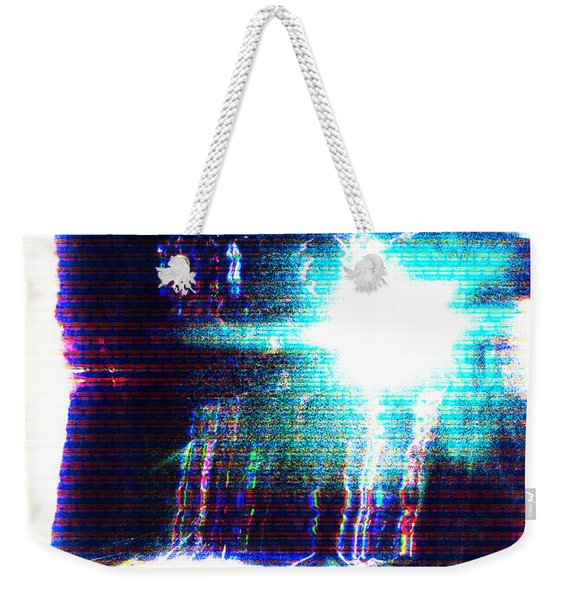 Weekender Tote Bag featuring the photograph Flashlight by Bee-Bee Deigner