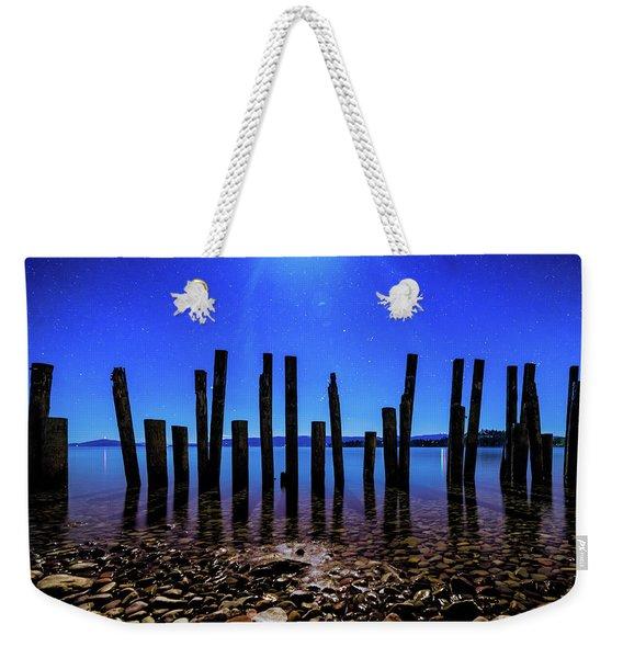 Flathead Lake Weekender Tote Bag