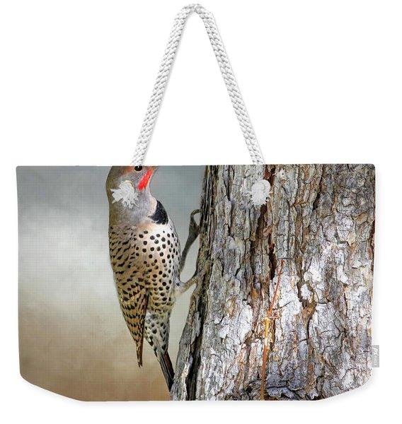 Flicker On A Pine Weekender Tote Bag