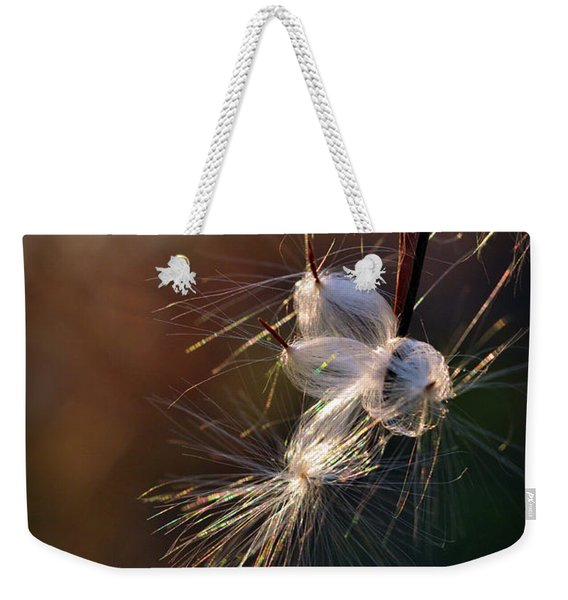 Weekender Tote Bag featuring the photograph Flight by Michelle Wermuth