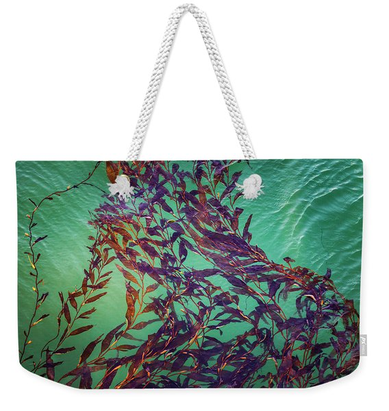 Floatin Kelp I Color Weekender Tote Bag