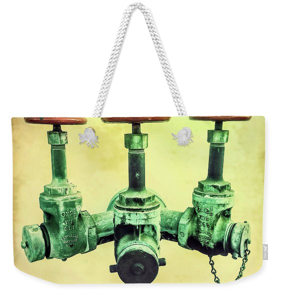 Floating Water Pipes Weekender Tote Bag