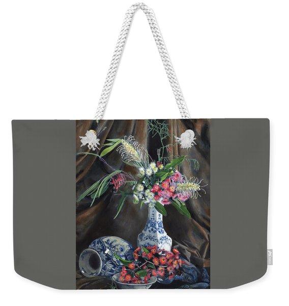 Floral Arrangement Weekender Tote Bag