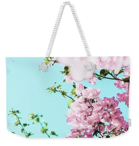 Floral Dreams I Weekender Tote Bag