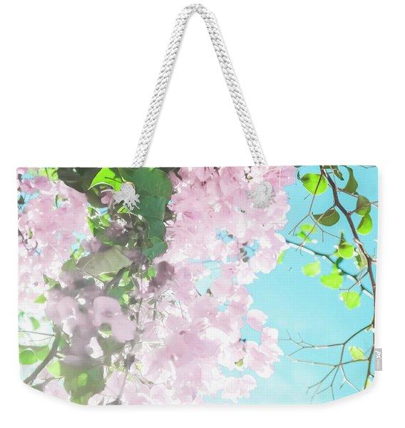 Floral Dreams IIi Weekender Tote Bag