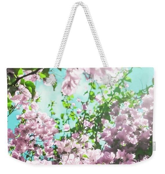 Floral Dreams Iv Weekender Tote Bag