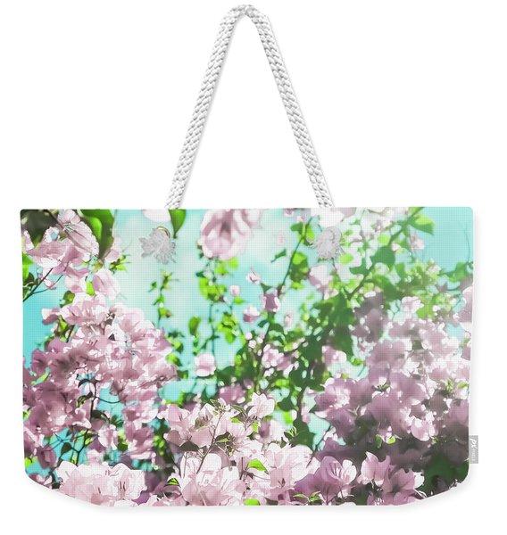 Floral Dreams V Weekender Tote Bag