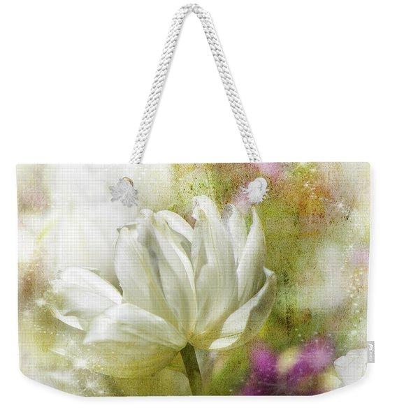 Floral Dust Weekender Tote Bag