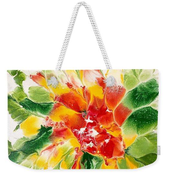 Floral Flourish 2 Weekender Tote Bag