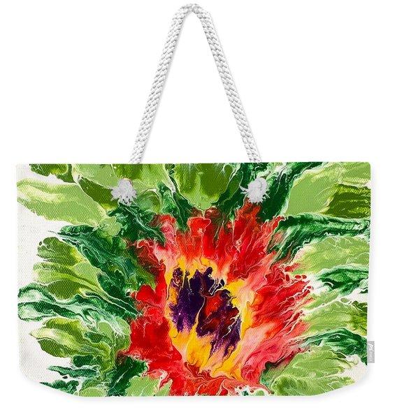 Floral Flourish Weekender Tote Bag