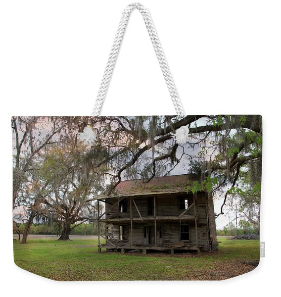 Florida Farmhouse Falls Apart Weekender Tote Bag