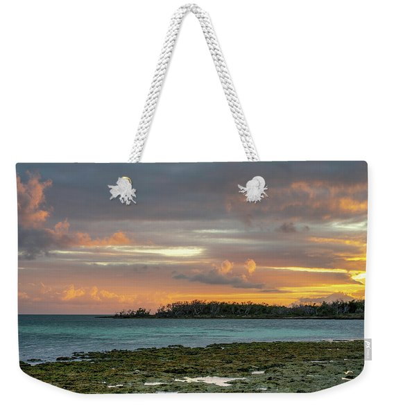 Florida Keys Sunset Weekender Tote Bag