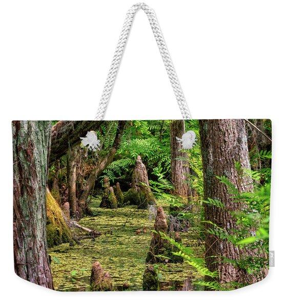 Florida Marsh Weekender Tote Bag
