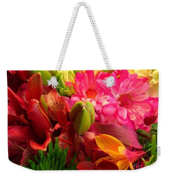 Flower Bunch Weekender Tote Bag