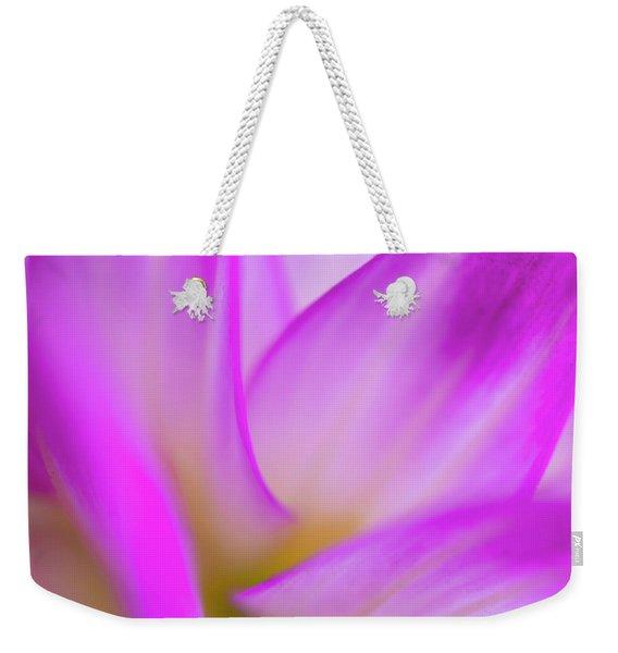 Flower Close Up Weekender Tote Bag