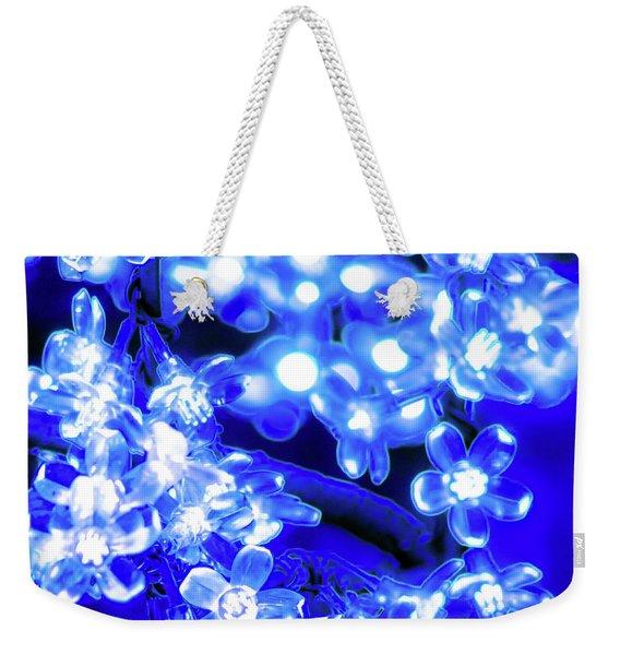 Flower Lights 1 Weekender Tote Bag