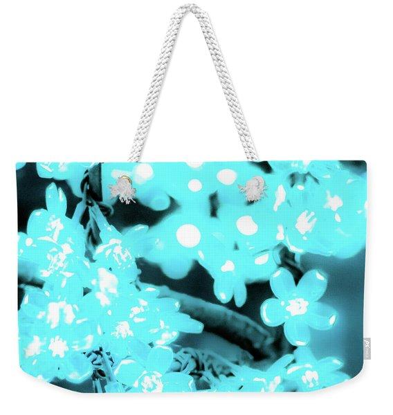 Flower Lights 3 Weekender Tote Bag