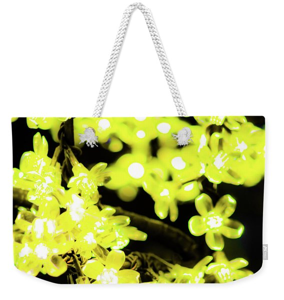 Flower Lights 6 Weekender Tote Bag