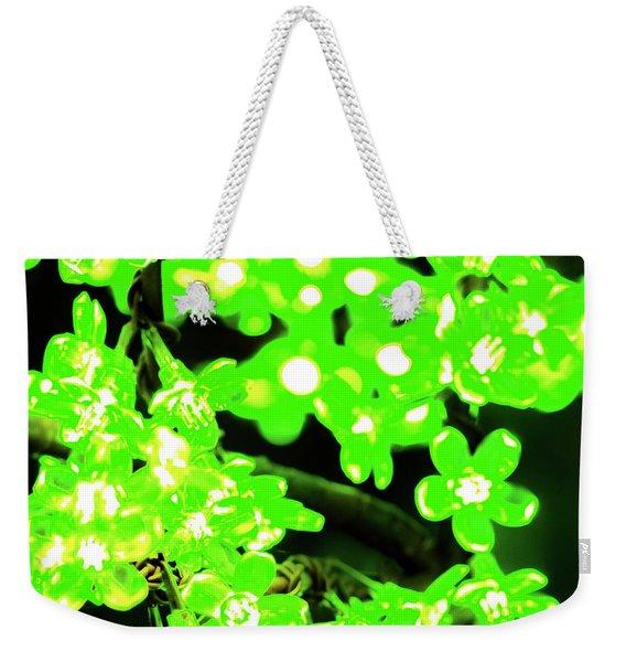 Flower Lights 7 Weekender Tote Bag