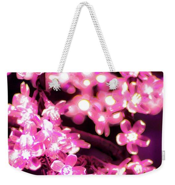 Flower Lights 9 Weekender Tote Bag