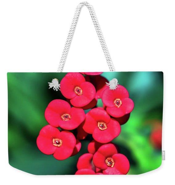 Flower Parade Weekender Tote Bag