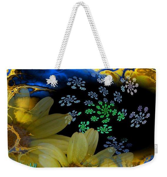 Flower Power In The Modern Age Weekender Tote Bag