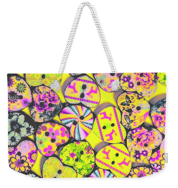 Flower Power Patterns Weekender Tote Bag