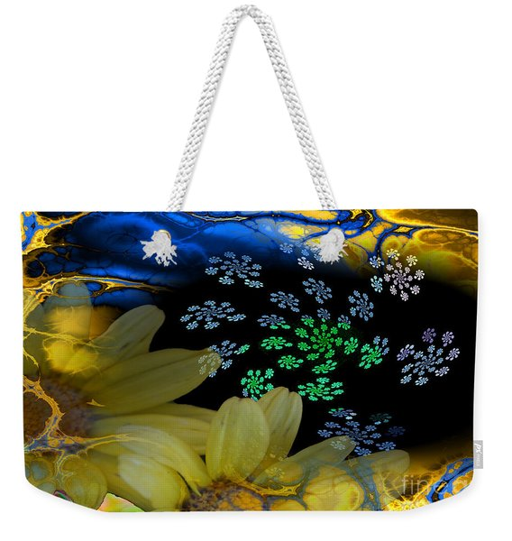 Flower Power Weekender Tote Bag