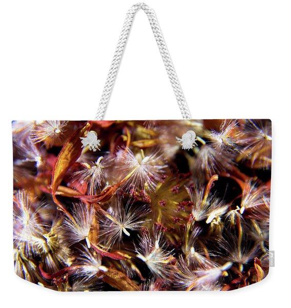 Flower Seeds-1 Weekender Tote Bag