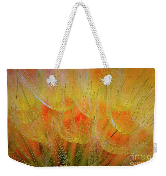 Flowering Over Weekender Tote Bag