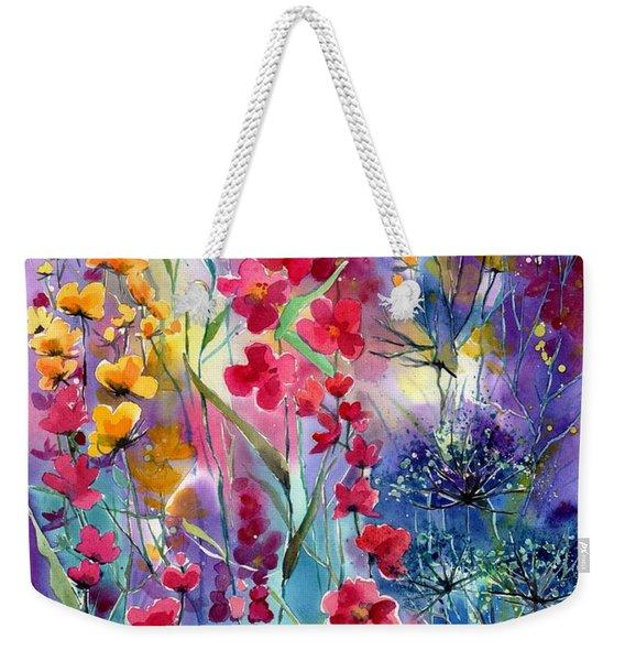 Flowers Fairy Tale Weekender Tote Bag