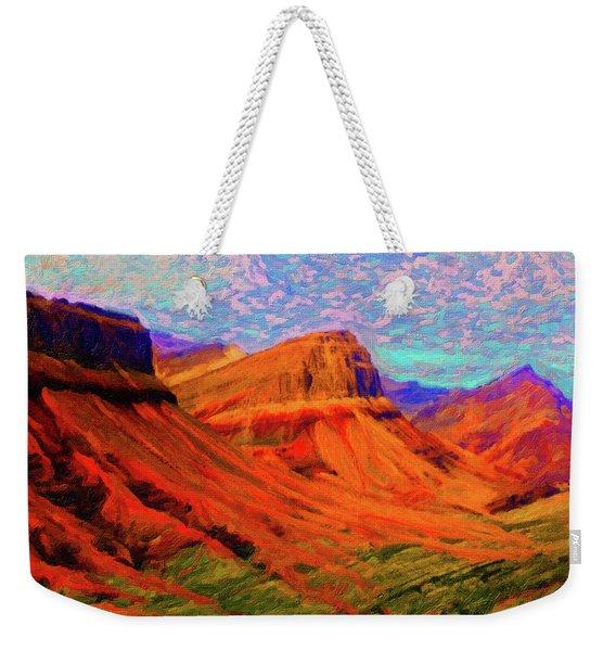 Flowing Rock Weekender Tote Bag