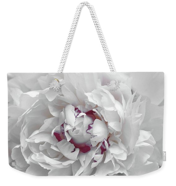 Weekender Tote Bag featuring the photograph Fluffy Flowers by JAMART Photography
