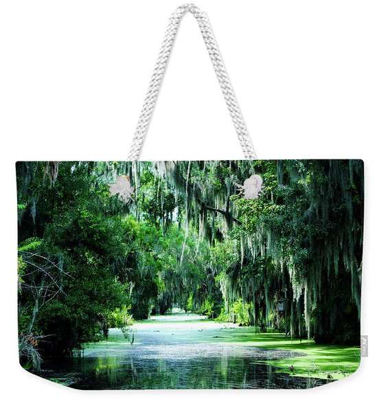 Flush With Green Weekender Tote Bag