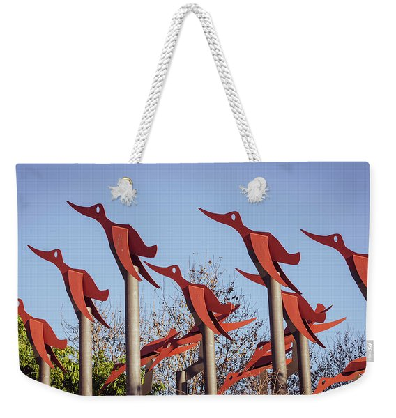 Flying To Nowhere Weekender Tote Bag