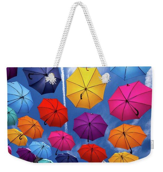 Flying Umbrellas I Weekender Tote Bag