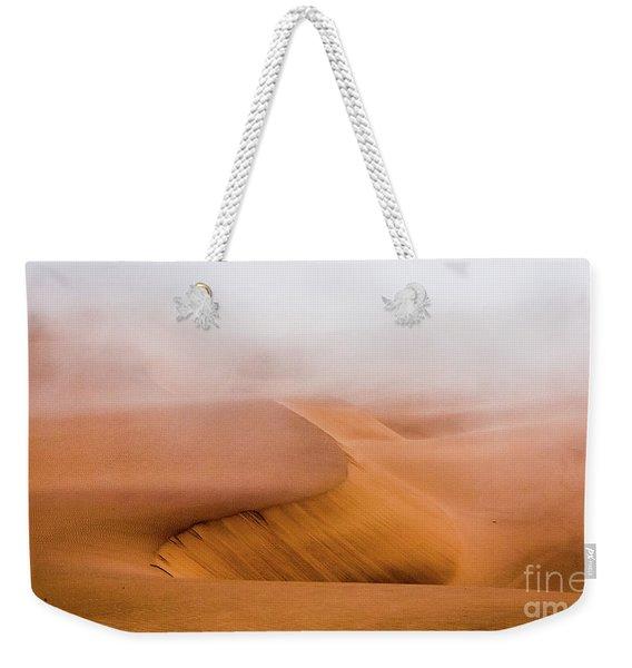 Foggy Namib Desert Weekender Tote Bag
