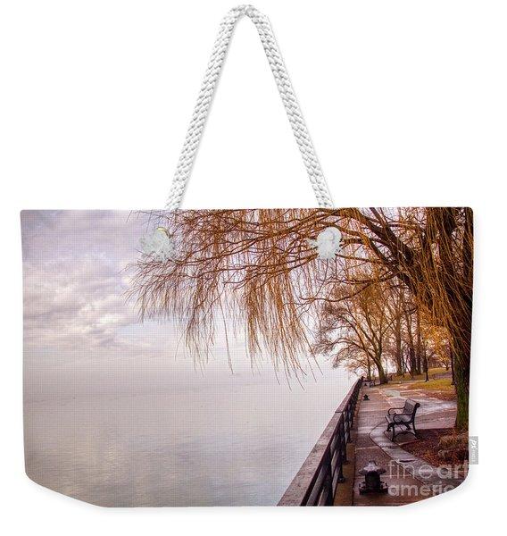 Foggy Niagara Weekender Tote Bag